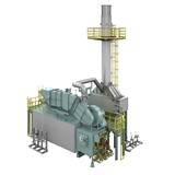 Industrial Watertube boiler